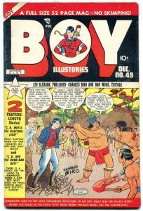 BOY COMICS #49 1949-CHARLES BIRO-TORTURE COVER-N MAURER VF-