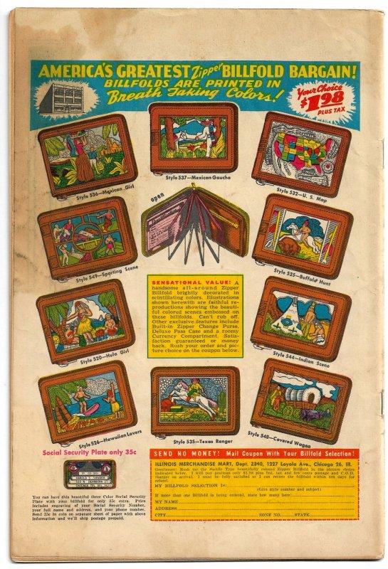 FOXY FAGAN #6 (Spring 1948) * VG/FN * Early & Excellent Harvey Eisenberg Art!!
