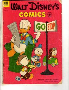 Walt Disney's Comics & Stories # 151 VG Dell Comic Book Donald Duck JL9