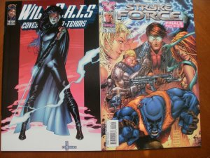 2 Near-Mint Image Comic: WILDCATS Covert Action Teams #18 & STRYKE FORCE #5