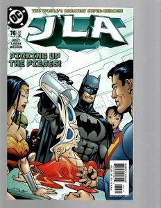 12 DC Comics JLA # 76 77 78 79 80 81 83 84 85 86 88 89 J438