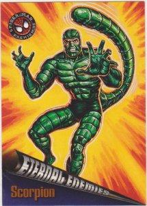 1996 Fleer Ultra Spider-Man Premium #71 Scorpion