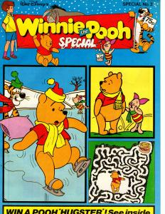 Winnie the Pooh Special #2 (Disney 1987) Stories Activities Puzzles Comics! Fun!