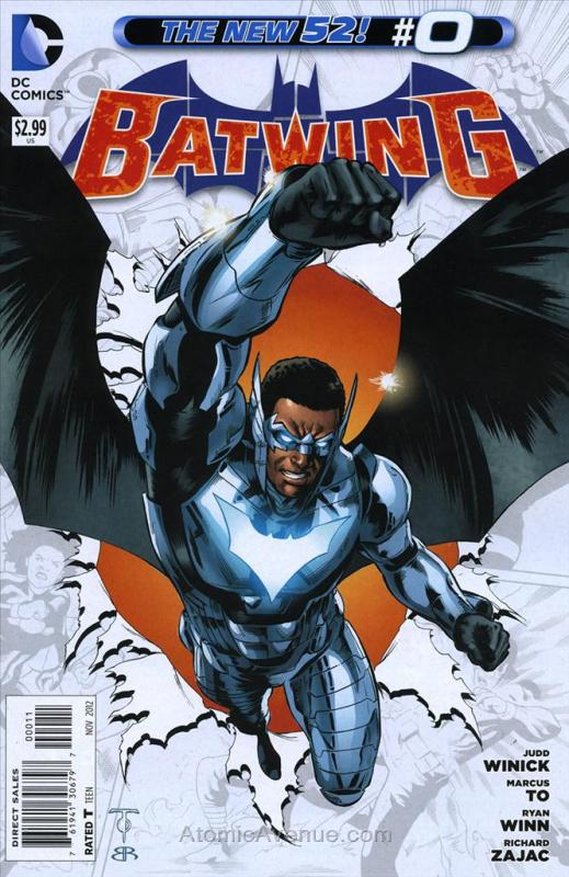 Batwing #0 VF/NM DC - save on shipping - details inside
