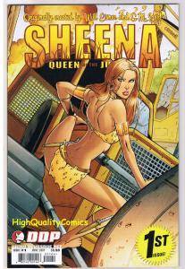 SHEENA QUEEN of the JUNGLE #1, NM+, Femme fatale, 2007, more in store