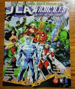 22 x 17 JLA / Wildcats Promo Poster NO PIN HOLES NEW Justice League DC