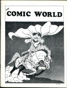 Comic World #12 1969-Robert Jennings-Ghost Rider-Johnny Craig & EC history-VF