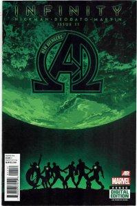 New Avengers #11 (2013 v3) Jonathan Hickman Mike Deodato NM-