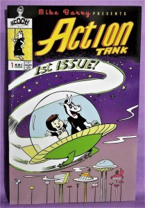 ComicTom101 ACTION TANK #1 Nate Johnson Jetsons Exclusive Cover (Scout, 2021)!