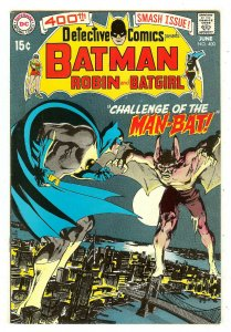 Detective Comics 400  Origin & 1st Man-Bat    Neal Adams