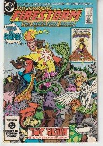 Fury of Firestorm(vol. 1) # 25   Legacy of Super Chief !