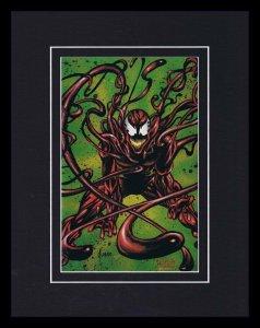 Carnage 1993 Framed 11x14 Marvel Masterpieces Poster Display