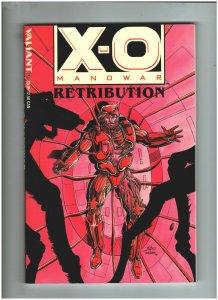 X-O Manowar Retribution Trade Paperback VF/NM 9.0 Valiant Comics 1993