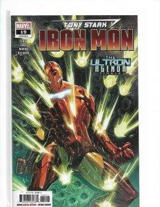 Tony Stark Iron Man #19  Avengers NM 2019   nw12