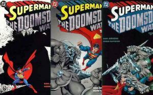 SUPERMAN DOOMSDAY WARS (1998) 1-3  Complete Series!