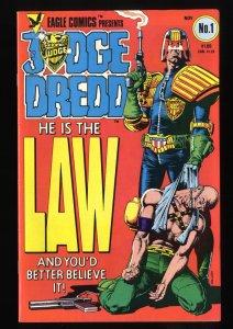 Judge Dredd (1983) #1 VF+ 8.5