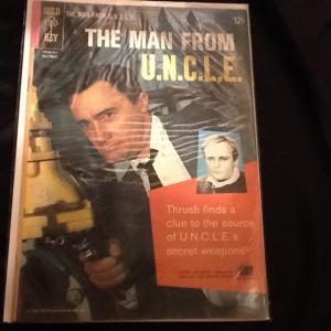 The Man from U.N.C.L.E. Gold Key Original; Two Books!