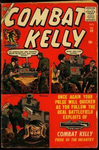 Combat Kelly #39 1956- Atlas War comic- Maneely cover G/VG