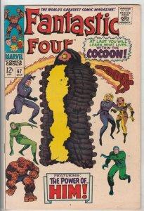 Fantastic Four #67 (Oct-67) VF High-Grade Fantastic Four, Mr. Fantastic (Reed...