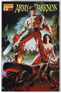 ARMY of DARKNESS #5, NM, Movie Cover, Chainsaw, Gun, 2005,, more AOD in store