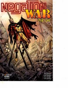 Lot Of 2 Negation War Cross Gen Comic Book #1 2  BH41
