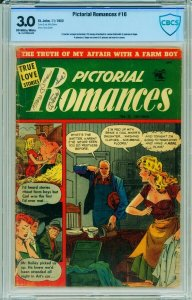 PICTORIAL ROMANCES #16 CBCS 3.0-1953-ST JOHN-MATT BAKER