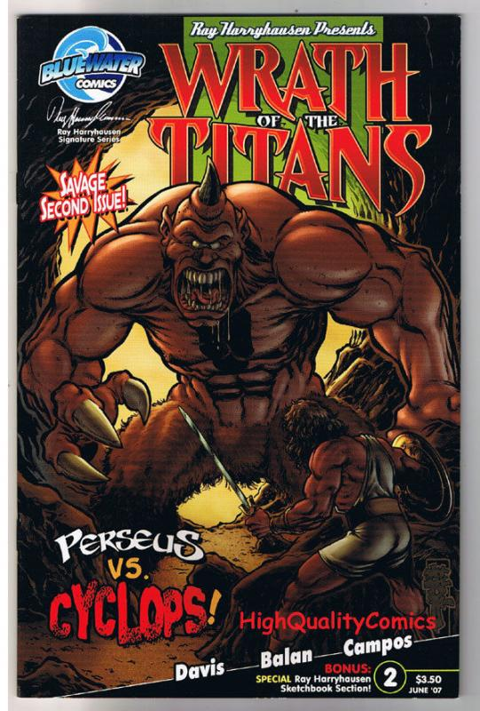 WRATH of the TITANS #2, VF, Clash, Ray Harryhausen, 2007, more indies in store,X