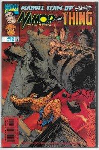 Marvel Team-Up   vol. 2   #10 VF Namor, Thing