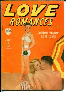 Love Romances #9 1949-Timely-violent spy story-nice poses-VG+