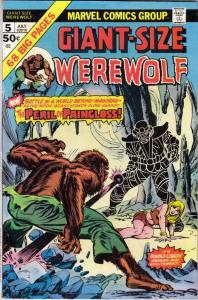 Giant-Size Werewolf by Night #5 (Jul-75) NM- High-Grade Werewolf