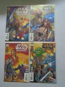 Star Wars Jedi Council set #1-4 NM (2000 Dark Horse)