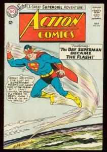ACTION COMICS #314 1964- SUPERMAN-DC COMICS FN