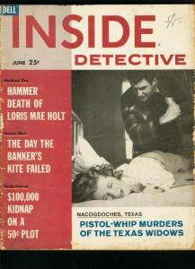 INSIDE DETECTIVE DEC 1961-PISTOL WHIP MURDERS-TRUE CRIME- G