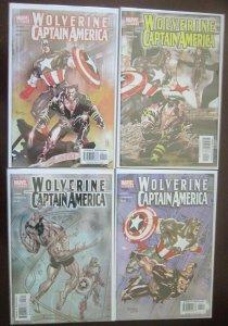 Wolverine / Captain America Comics Set # 1 - 4 - 8.0 VF - 2004