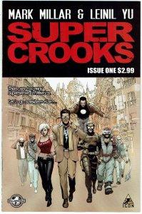 Super Crooks #1 Mark Millar Millarworld Netflix NM