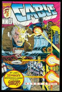 CABLE #1 1992-PART 1 OF 2-MARVEL COMICS- X-MEN NM