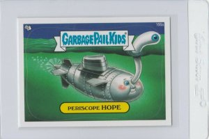 Garbage Pail Kids Periscope Hope 166a GPK 2013 Brand New Series 3 trading card
