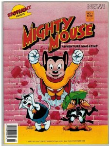 MIGHTY MOUSE ADVENTURE MAGAZINE 1 VF-NM 1987