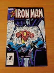 Iron Man #199 ~ NEAR MINT NM ~ 1985 MARVEL COMICS