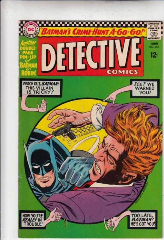 Detective Comics #352 (Jun-66) VF/NM High-Grade Batman