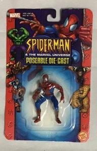 ToyBiz Superhero die cast metal model Spider-Man