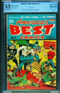 America's Best Comics #11 CBCS 3.5 1944-WWII Tojo and Hirohito cover
