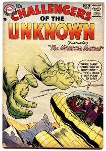 Challengers of the Unknown #2-Jack Kirby-1958-DC Silver-Age