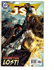 Lot Of 10 JSA DC Comic Books # 61 62 63 64 65 66 67 68 69 70 Batman Flash CR17