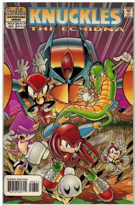 KNUCKLES (1997 ARCHIE) 8 F-VF Jan. 1997