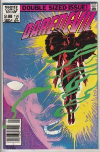 Daredevil #190 (Jan-83) NM- High-Grade Daredevil