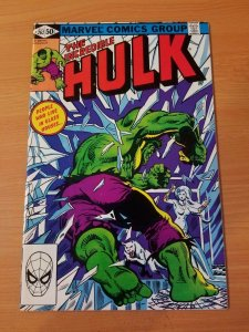 The Incredible Hulk #262 ~ NEAR MINT NM ~ (1981, Marvel Comics)