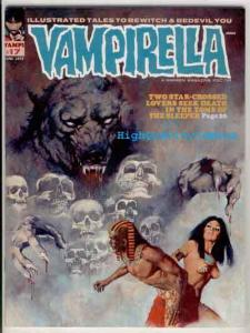 VAMPIRELLA #17, VF+, Warren,  Vampire, Maroto, Bayou,1969, Magazine, Horus