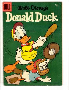 Donald Duck # 49 FN Dell Comic Book 1956 Silver Age Walt Disney Mickey Mouse JL2
