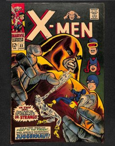 X-Men #33 FN 6.0 Juggernaut!